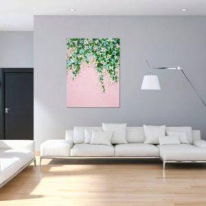saatchi-art-isabelle-pelletane-pink-floral