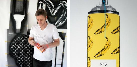 Chanel, Louis Vuitton, Street Art