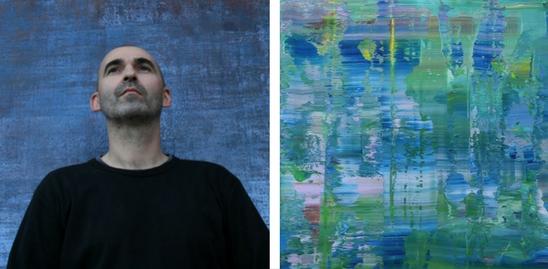 Koen Lybaert abstract minimalism paintings