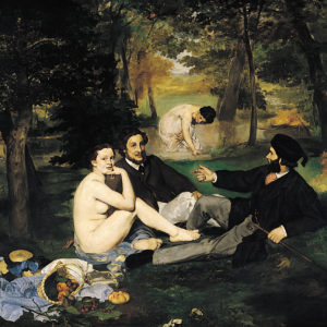 edouard manet luncheon on the grass painting saatchi art
