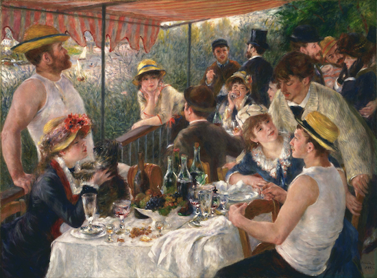 boating party by pierre august renoir