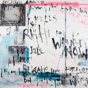 Right or wrong Painting, 68.1 H x 59.1 W x 0 in Niki Hare United Kingdom
