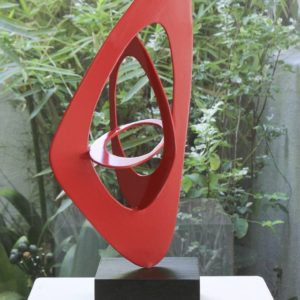 Ellipsis Sculpture, 16.9 H x 7.9 W x 5.9 in Paul Stein South Africa