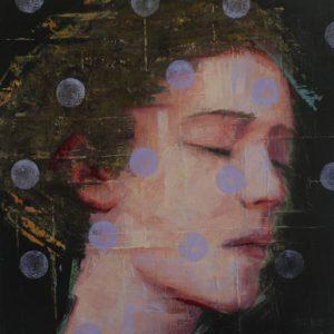 A FLOR DE PIEL Painting, 15.7 H x 15.7 W x 0.7 in Tomasa Martin Spain