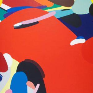 Gather Painting, 38.2 H x 51.3 W x 0 in Kotaro MACHIYAMA Japan