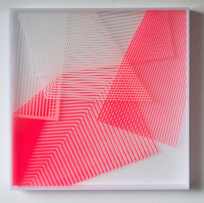 Kate Banazi perspex series