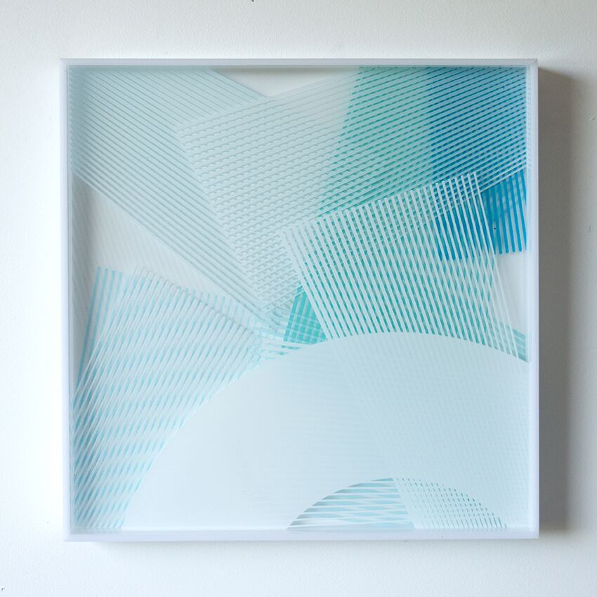 Kate Banazi perspex artwork