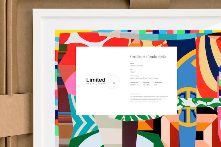 Introducing Limited by Saatchi Art: Let Art Tell Your Story – Canvas ...