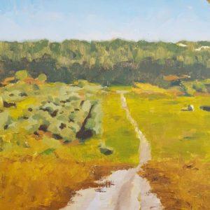 landscape nimrod shental Israel Painting