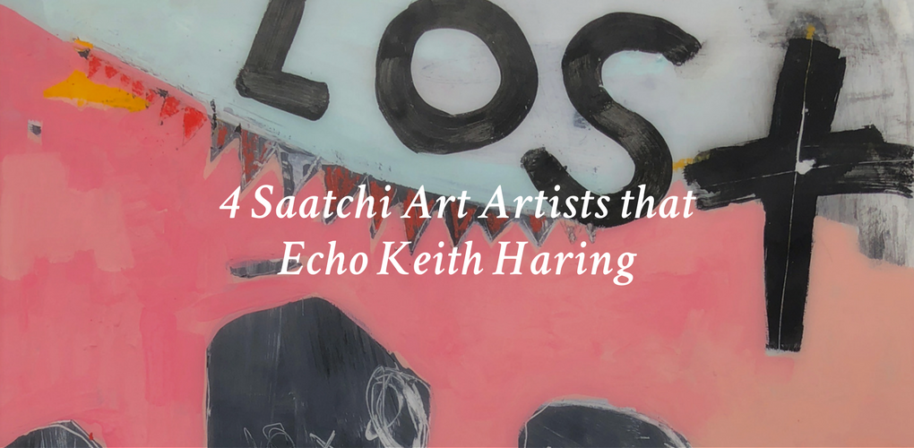 4 Saatchi Art Artists that Echo Keith Haring – Canvas: A Blog By ...