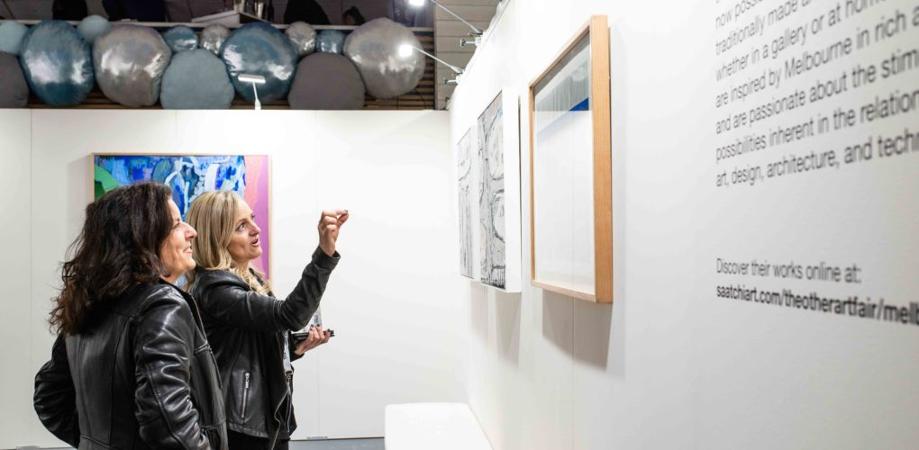 From A Curator The Other Art Fair Melbourne Canvas A Blog By Saatchi Art