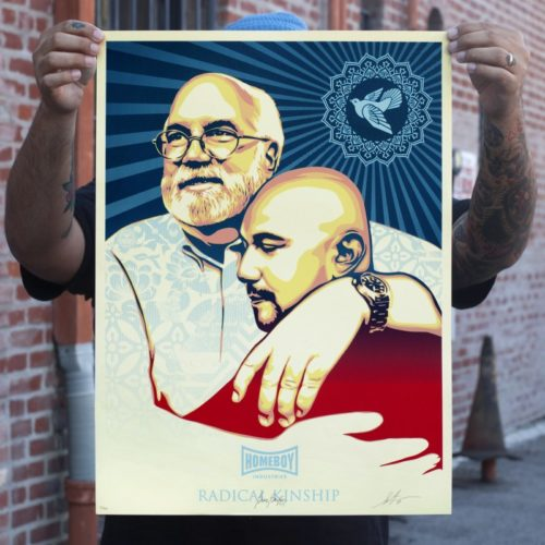 Los Angeles: Signed Shepard Fairey Print For Sale by No...