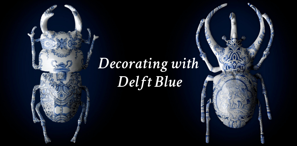 Decorating with Delft Blue