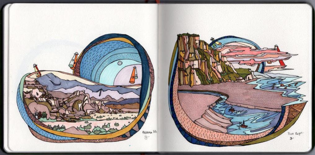 Sketchbook Sundays with The Sketchbook Project
